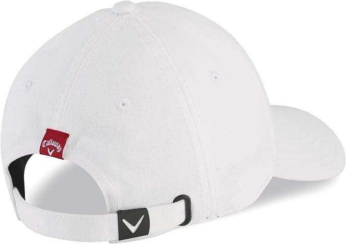 Callaway 5215076 Gorra de béisbol, Hombre, Multicolor (Blanco/Rojo ...