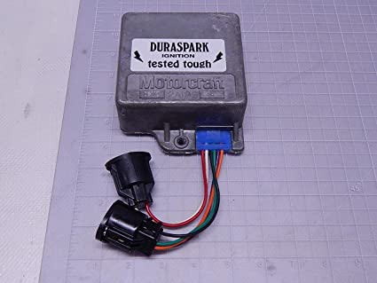 Motorcraft 12A199 DURASPARK Ignition Control Module Ignition Module OEM  Replacement AMC Ford Jeep Lincoln Mercury