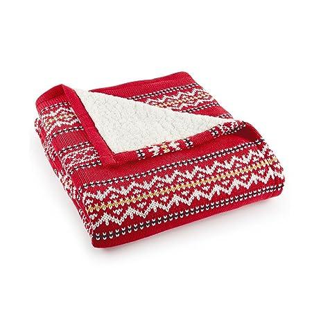 Amazon.com: Martha Stewart Collection Bedding, Fair Isle Sweater ...