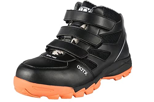 DDTX Botas de Seguridad Hombre (Puntera Composite,Entresuela de Kevlar,Aislamiento) Zapatos