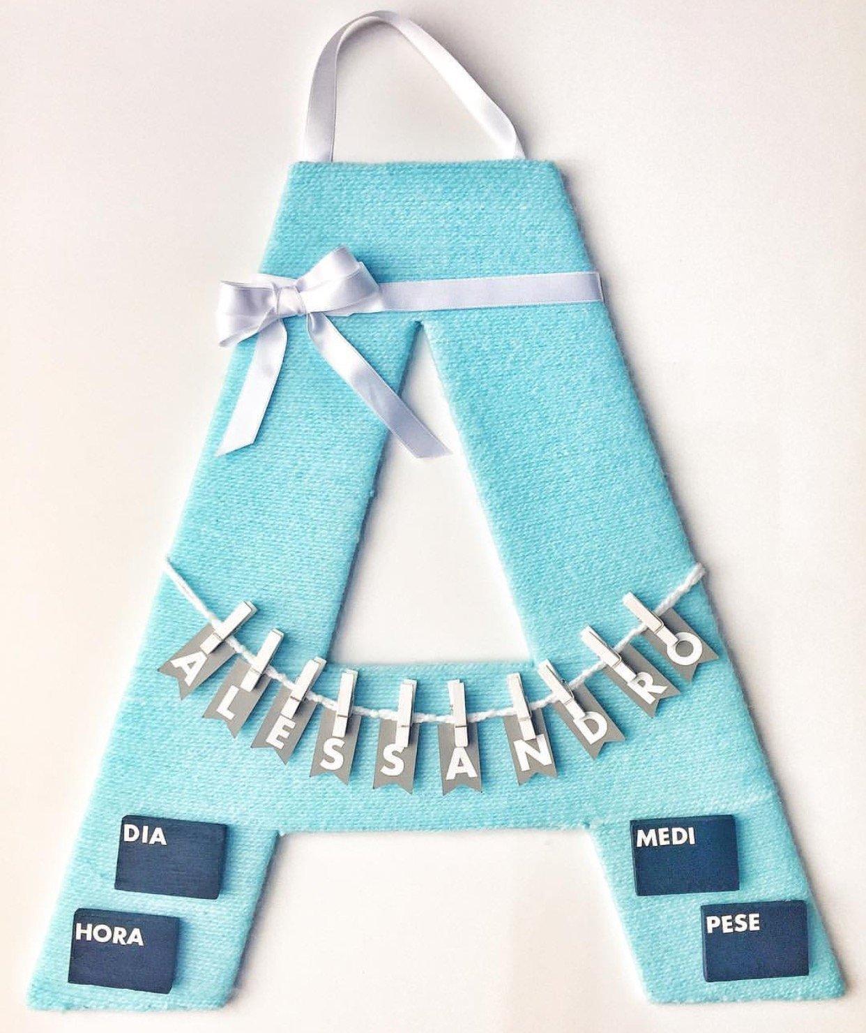 Hospital Door Hanger / cartel de bienvenida para bebé ideal para luego decorar la habitación del bebé