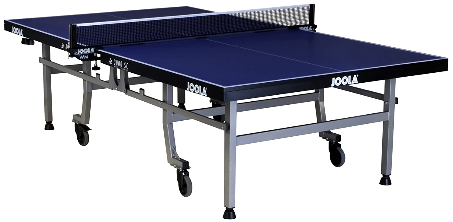 Amazon.com : JOOLA 3000 SC Table Tennis Table With WM Net Set (Tournament  Used) : Sports U0026 Outdoors