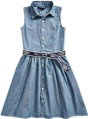 Polo Ralph Lauren - Vestido NIÑA 313785817001 - Vestido NIÑA: Amazon.es: Ropa y accesorios