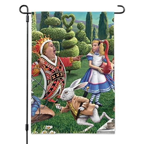 Amazon Com Graphics And More Alice In Wonderland Garden Party