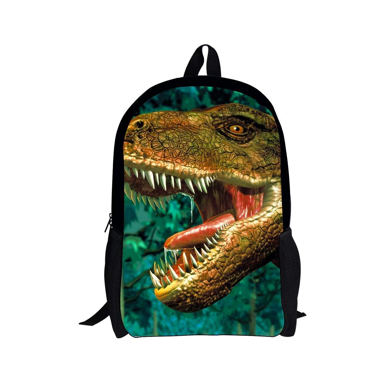 2 PCS Dinosaur Backpack Set 2 Pieces Bags Set Shoulder Backpack Insulated Lunch Bag