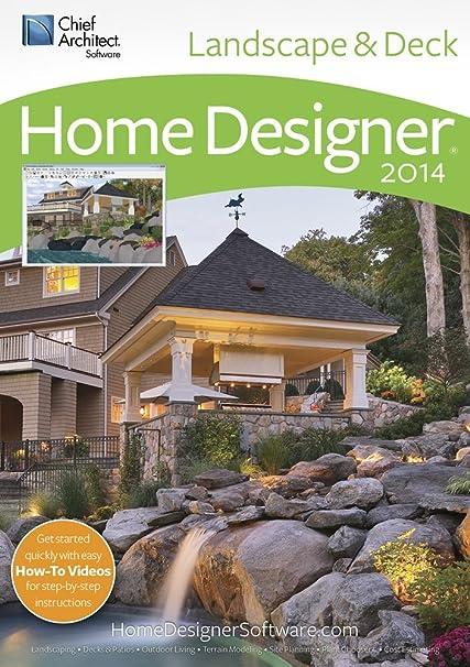 Amazon.Com: Home Designer Landscape And Decks 2014 [Download