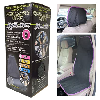 Amazon.com : Towel Car Seat Cover Water Sports Yoga Gym Swimming Beach Outdoor Sweat Washable : Office Products