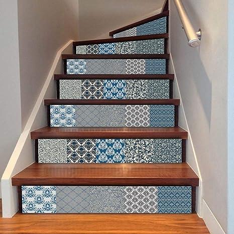 Apliques Escaleras Murales Pegatinas Art Deco Extraíbles Pegatinas De Pared Decoración para El Hogar: Amazon.es: Deportes y aire libre
