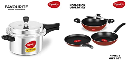 Pigeon Favorite 3l Induction Based Pressure Cooker, Rs 699 /piece | ID:  14198900655