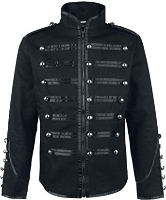 authentische Qualität Gute Preise beste Wahl Banned Military Drummer Jacke schwarz