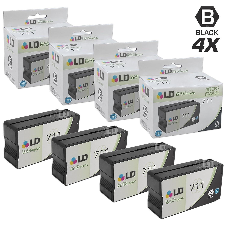 LD reciclados equivalentes Hewlett Packard 711 Cartuchos de Tinta ...