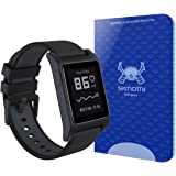 Pebble 2 Screen Protector, Skinomi Tech Glass Screen Protector for Pebble 2 Clear HD and 9H Hardness Ballistic Tempered Glass Shield