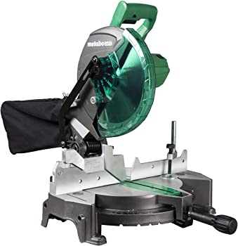 Metabo HPT C10FCGSM 10 Inch Single Bevel Compound Miter Saw