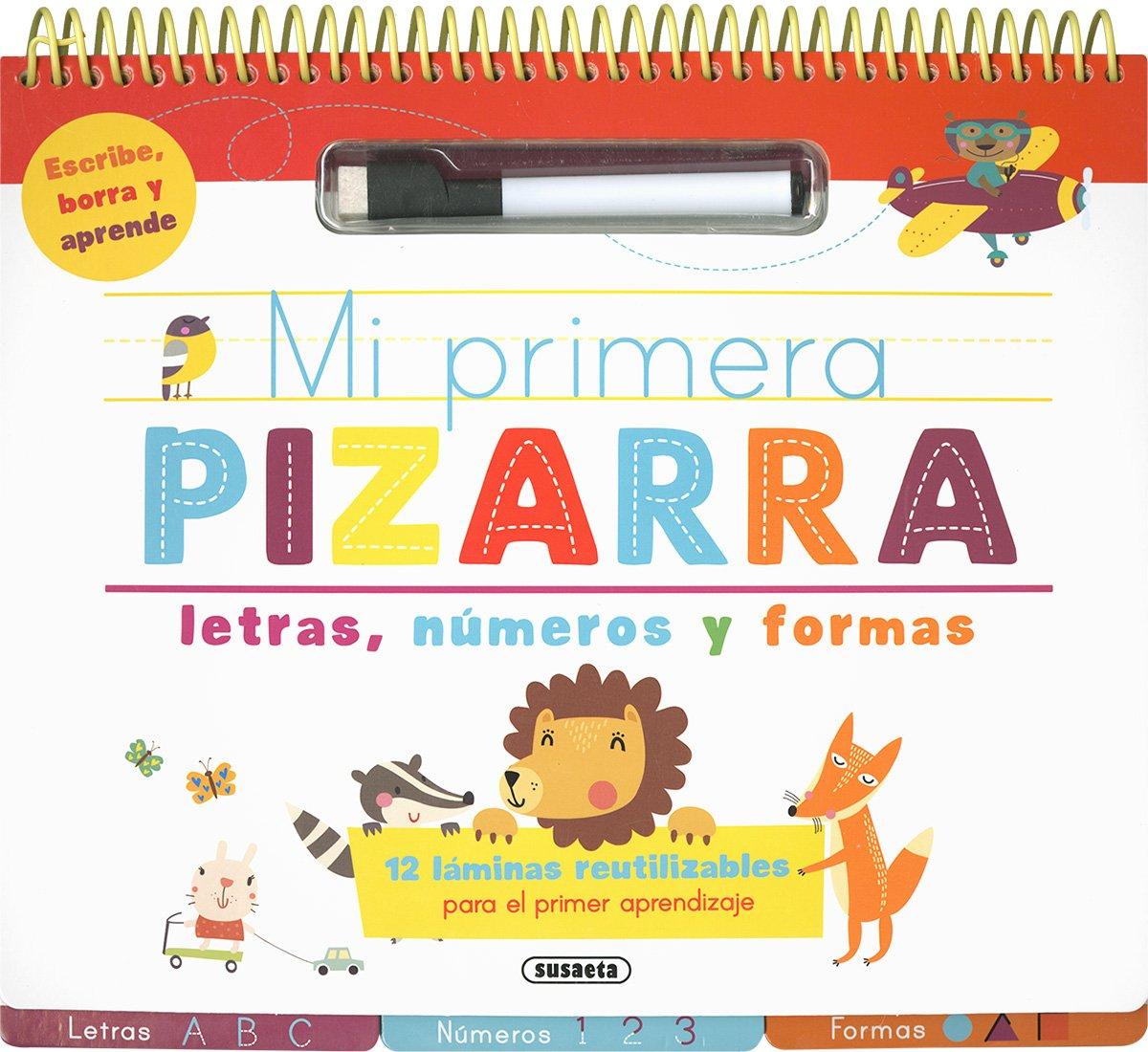 MI PRIMERA PIZARRA. LETRAS, NUMEROS Y FORMAS (+4 A?OS ...
