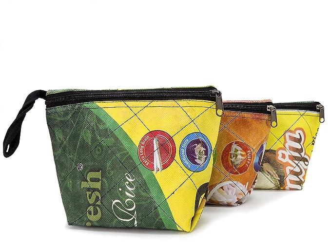 upcycling - Neceser de arroz recicladas Bolsas - Comercio ...
