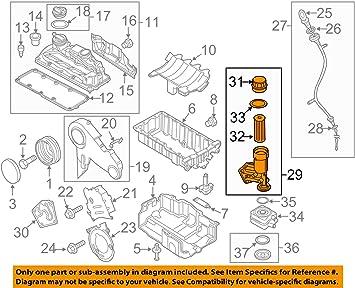09 jetta engine diagram amazon com volkswagen audi 045115389h genuine oem oil filter hsng  volkswagen audi 045115389h genuine oem
