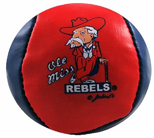 NCAA Ole Miss Rebels Hacky Sack Ball