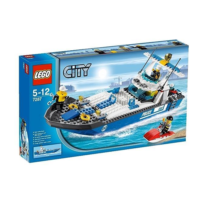 LEGO City Policía 7287 - Barco de Policía (ref. 4589414): Amazon ...