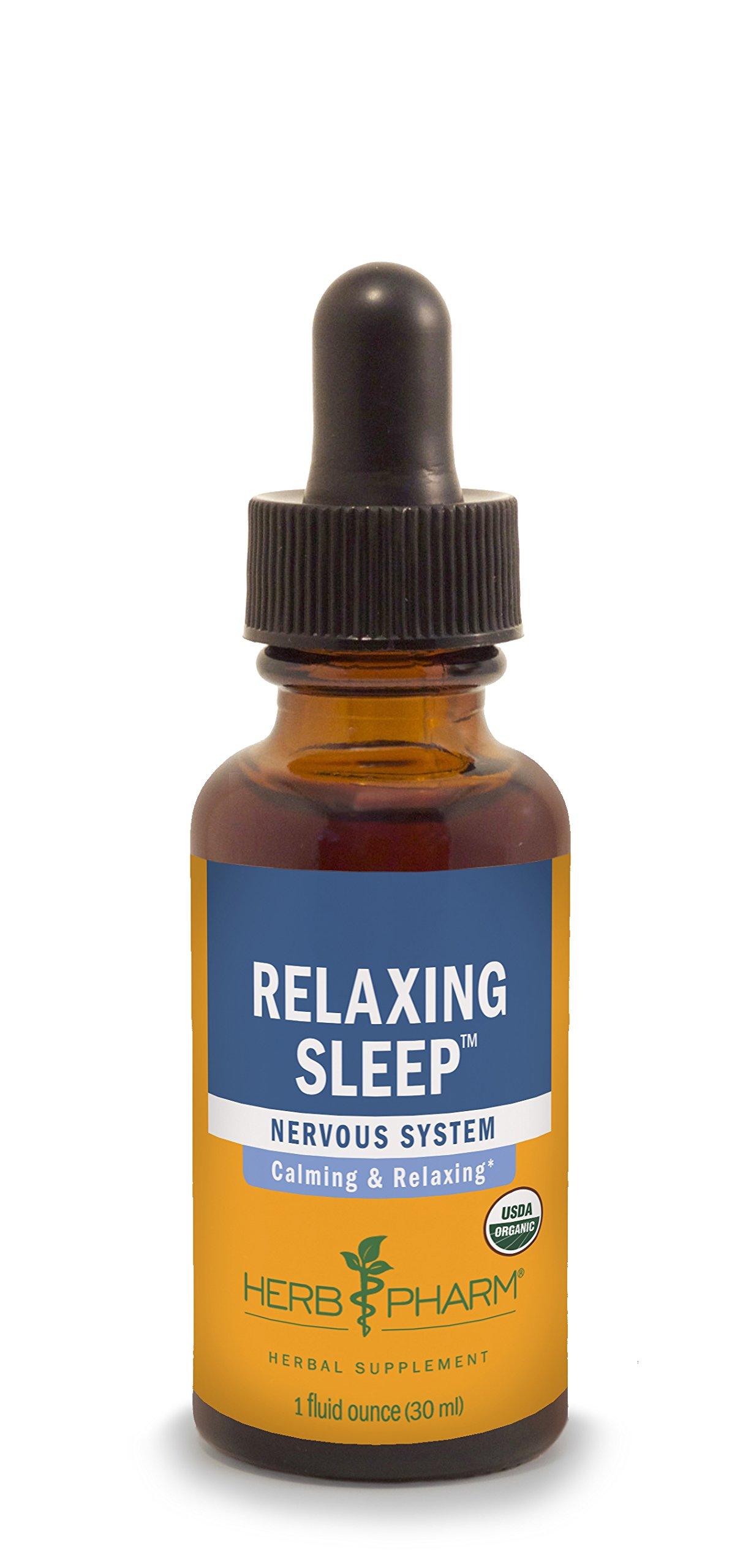 Herb Pharm Relaxing Sleep Herbal Formula with Valerian Extract - 1 Ounce