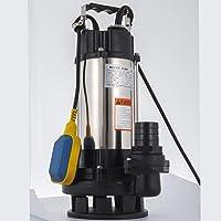 VEVOR Bomba de Inmersión para Aguas Sucias Bomba Sumergible de Aguas Residuales 2.2KW Bomba de Inmersión para Aguas…