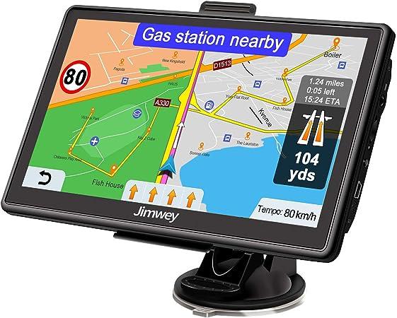 Jimwey Navigationsgerät Für Auto Navi Lkw Navigation 7 Elektronik