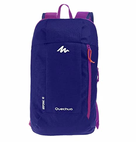 bd789f2aece8 X-Sports Decathlon QUECHUA Kids Adults Outdoor Backpack Daypack Mini Small  Bookbags10L (Purple)  Amazon.in  Sports