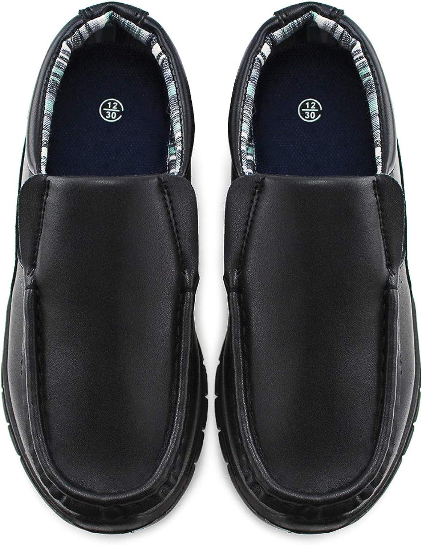 JABASIC Boys School Uniform Dress Shoes