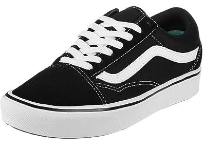 7348271a25 Vans ComfyCush Old Skool Black True White  Amazon.fr  Chaussures et Sacs