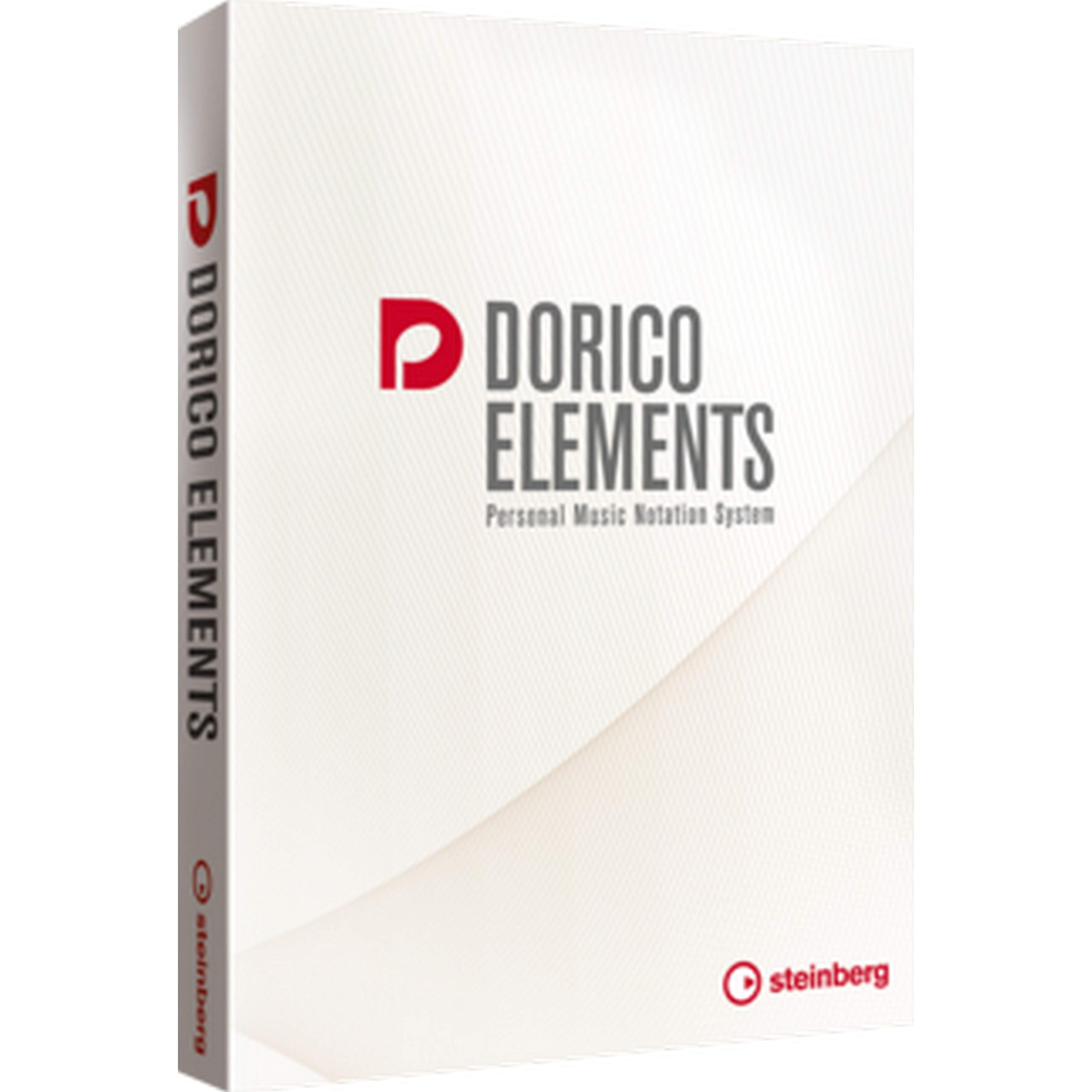 Steinberg Dorico Elements 2 Personal Music Notation Software, Boxed Version