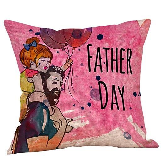 Rusaly Happy Fashion - Funda de cojín para el día del Padre ...