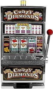 RecZone Crazy Diamonds Slot Machine Bank - Authentic Replication