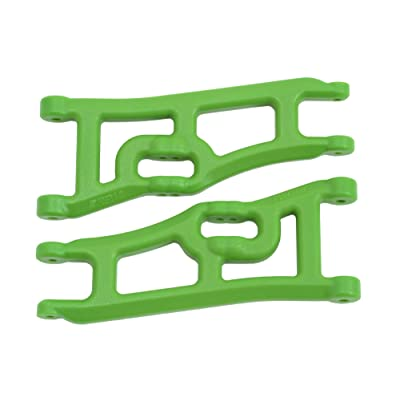 RPM 70664 Wide Front A-Arms for The Traxxas E-Rustler and Stampede 2WD, Green: Toys & Games
