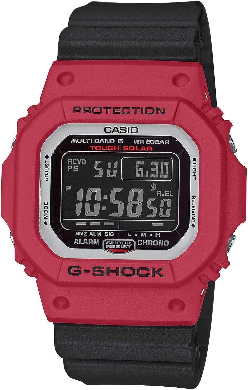 Casio Reloj para de Cuarzo con Correa en plástico GW-M5610RB-4ER