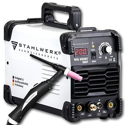 Acero de DC Wig 200 ST IGBT - Combinado Wig sudor dispositivo con 200 amperios y