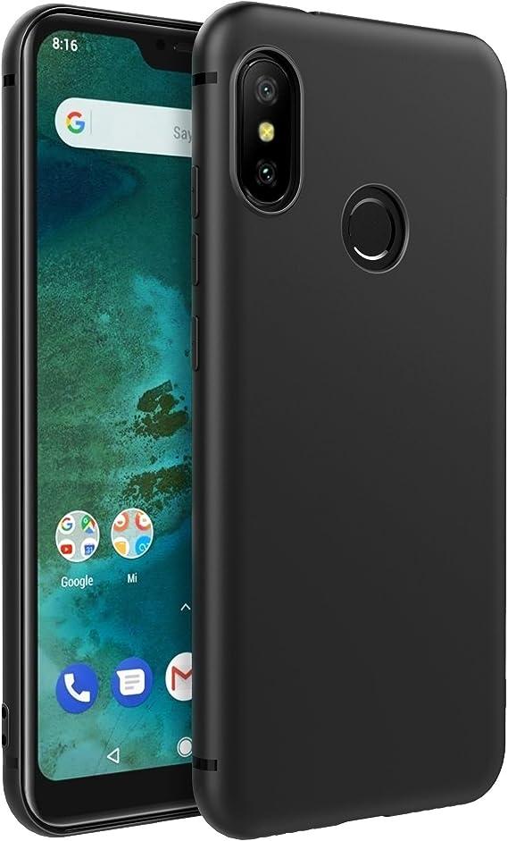 EasyAcc Xiaomi Mi A2 Lite/Redmi 6 Pro Funda, Funda Suave TPU Case ...