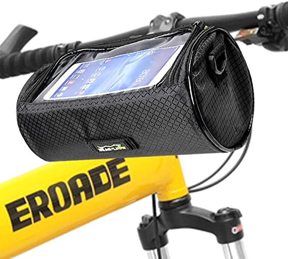 Cycling Handlebar Bar Quick Release Front Basket Portable Bike Bicycle Bag Pouch