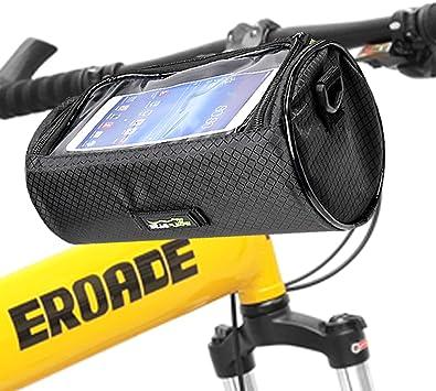 20 Inch Large Capacity Polyester Bike Front Basket Waterproof Handlebar Bag sy