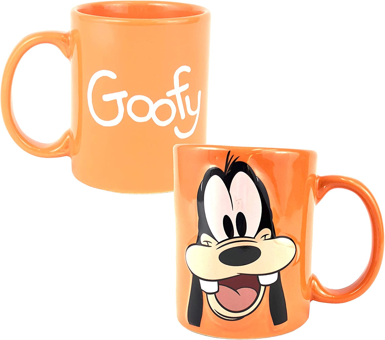 New Disney Goofy Mug Coffee Retro Tea Cup Mickey Mouse Official