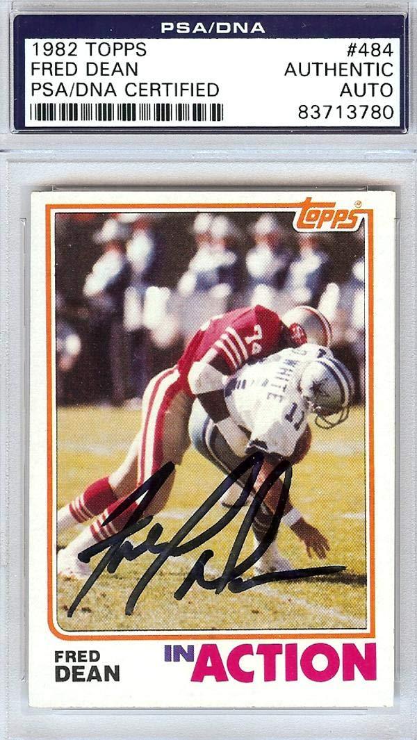 Verzamelkaarten: sport Verzamelingen 1982 Topps #483 Fred Dean San Francisco 49ers Football Card