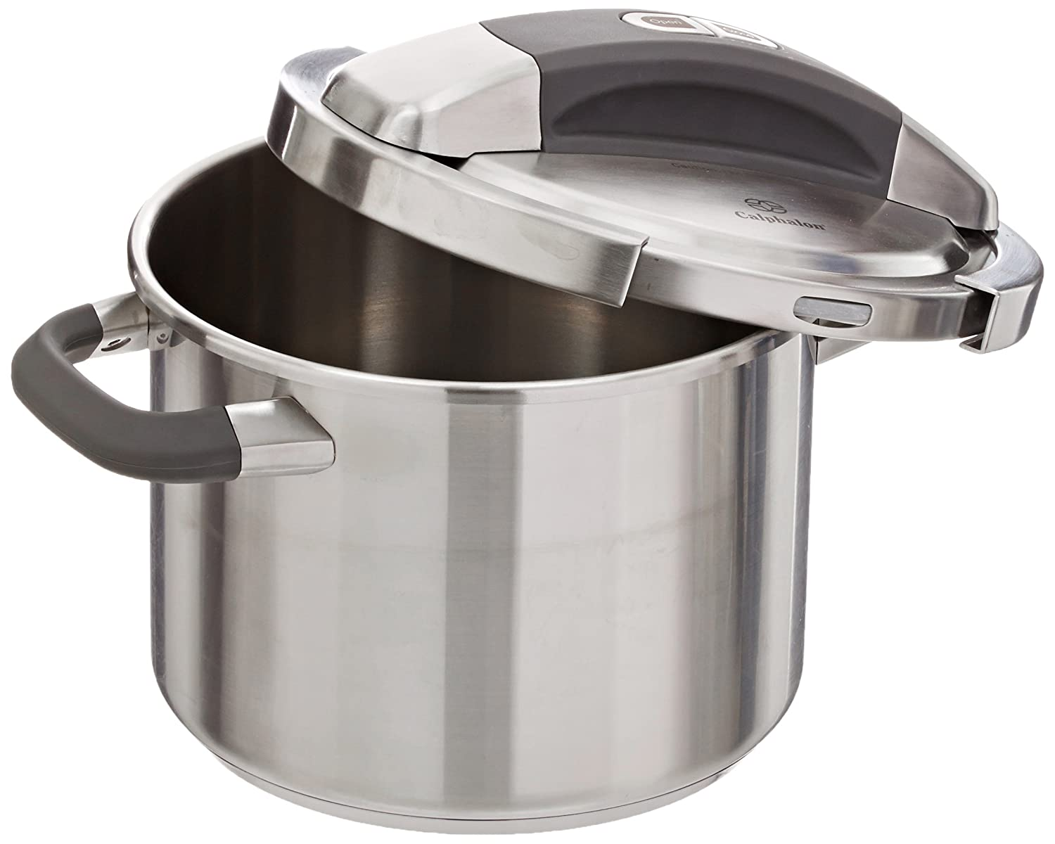 amazoncom calphalon stainless steel pressure cooker 6quart kitchen u0026 dining