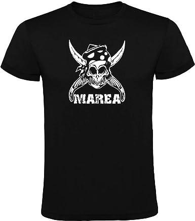 Primark Camiseta Marea Negra para Hombre 100% ALGODÓN Talla S M L XL XXL (M): Amazon.es: Ropa y accesorios