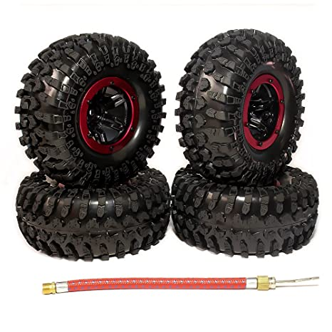 rcawd Hinchable 2.2 Pulgadas beadlock Rueda de neumáticos para 1 ...