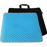 "FOMI Premium Firm All Gel Orthopedic Seat Cushion Pad (15"" x 15"") for Car, Office Chair, Wheelchair, or Home. Pressure…"