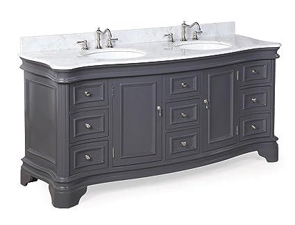Kitchen Bath Collection Kbc A72gycarr Katherine Bathroom Vanity With