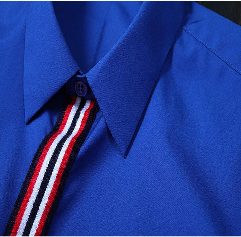 Nueva Camisa de Hombre con Bordado de Tapeta roja y Blanca de ...