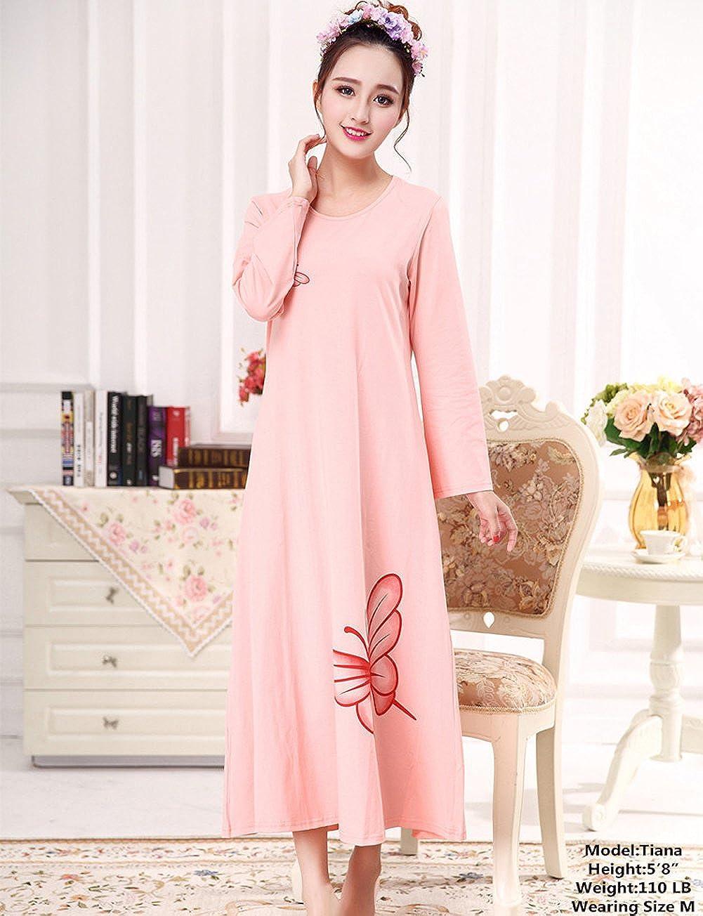 VEBE Niñas para mujer diseño de mariposas vestido - Rosado -: Amazon ...