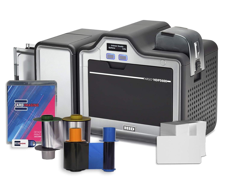 Fargo HDP5600 Impresora de Tarjetas de identificación de Doble ...