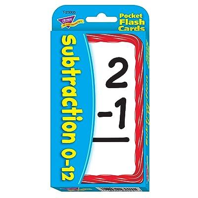 Subtraction Pocket Flash Cards: Toys & Games [5Bkhe0203780]