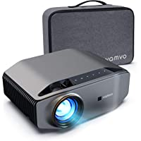 """1080p Projector, vamvo L6200 Full HD Video Projector with max 300"""" Display, 5000Lux with 50000hrs Life, Ideal for…"""