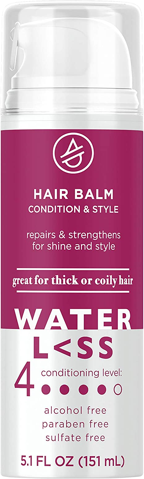 Waterless Hair Balm Condition Style 5 1 Fl Oz Sulfate Free For Thick Or Coily Hair 5 1 Fl Oz Amazon Ca Beauty